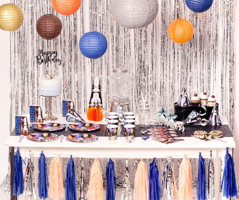 Kosmos- pomysł na imprezę urodzinową dziecka