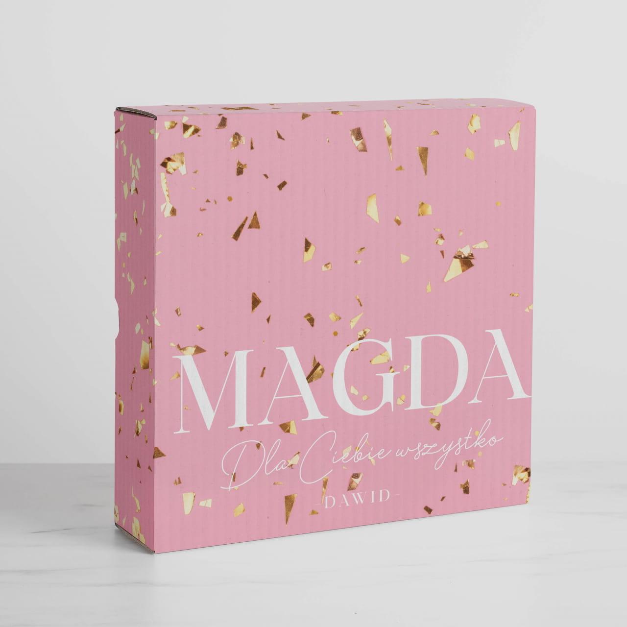Personalizowane pudełko na prezent DLA KOBIETY