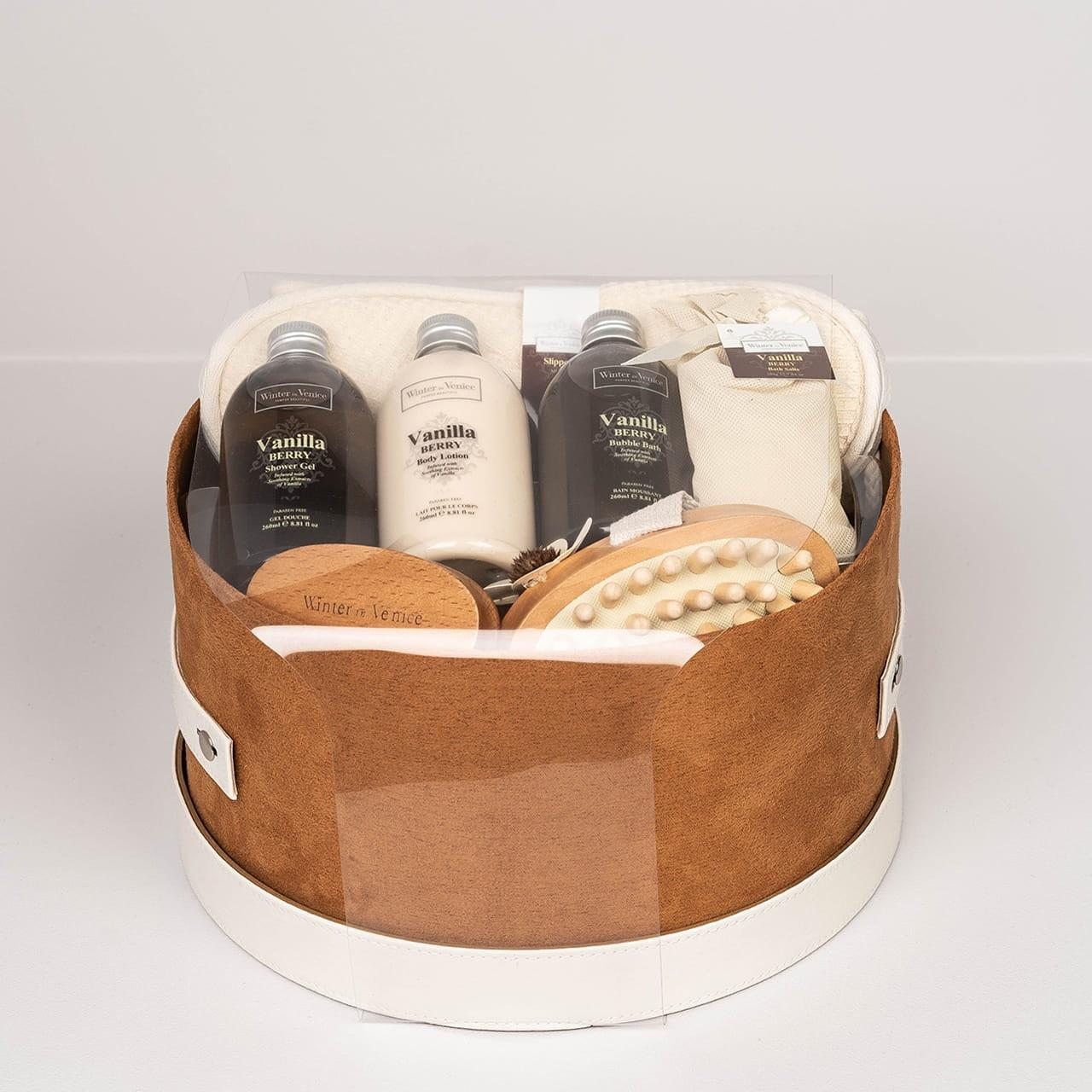 Pudełko z kosmetykami dla niej VANILLA BERRY