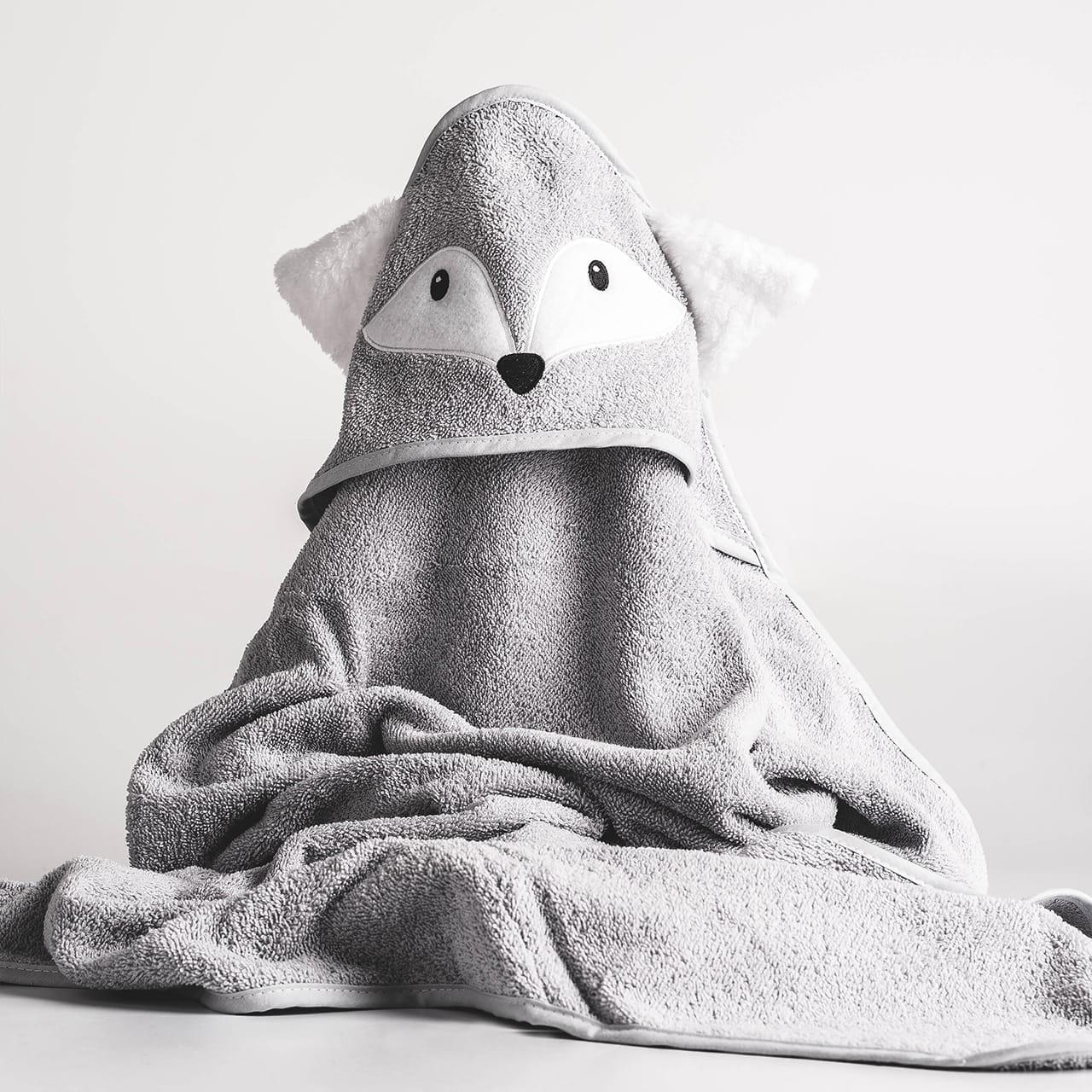 Ręcznik z kapturem to idealny prezent na roczek