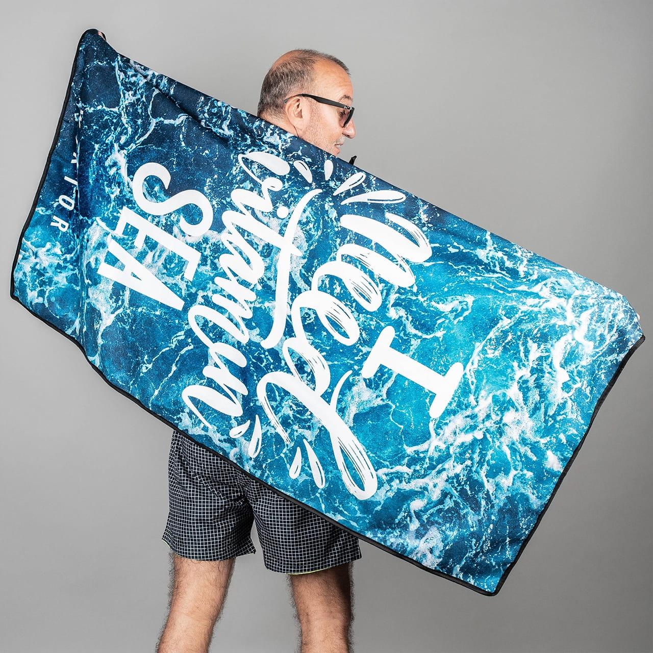 Ręcznik z mikrofibry VITAMIN SEA