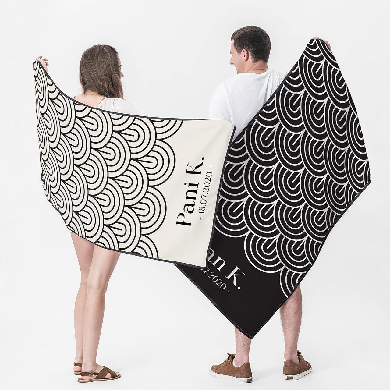 Ręczniki dla Pary Młodej