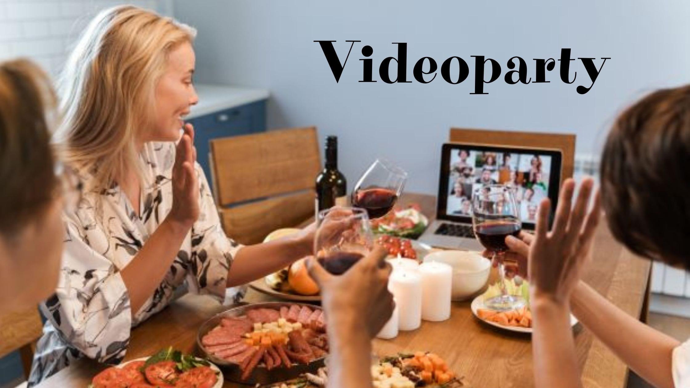 Videoparty niespodzianka - prezent na odległość