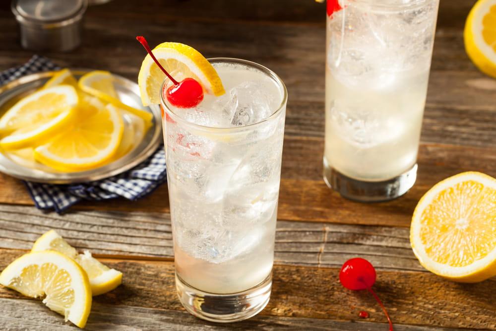 Vodka Collins Drink