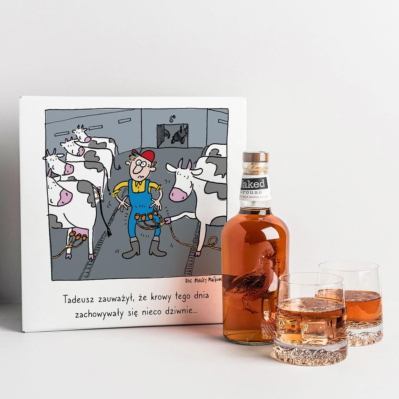 Whisky to ekskluzywny prezent dla rolnika