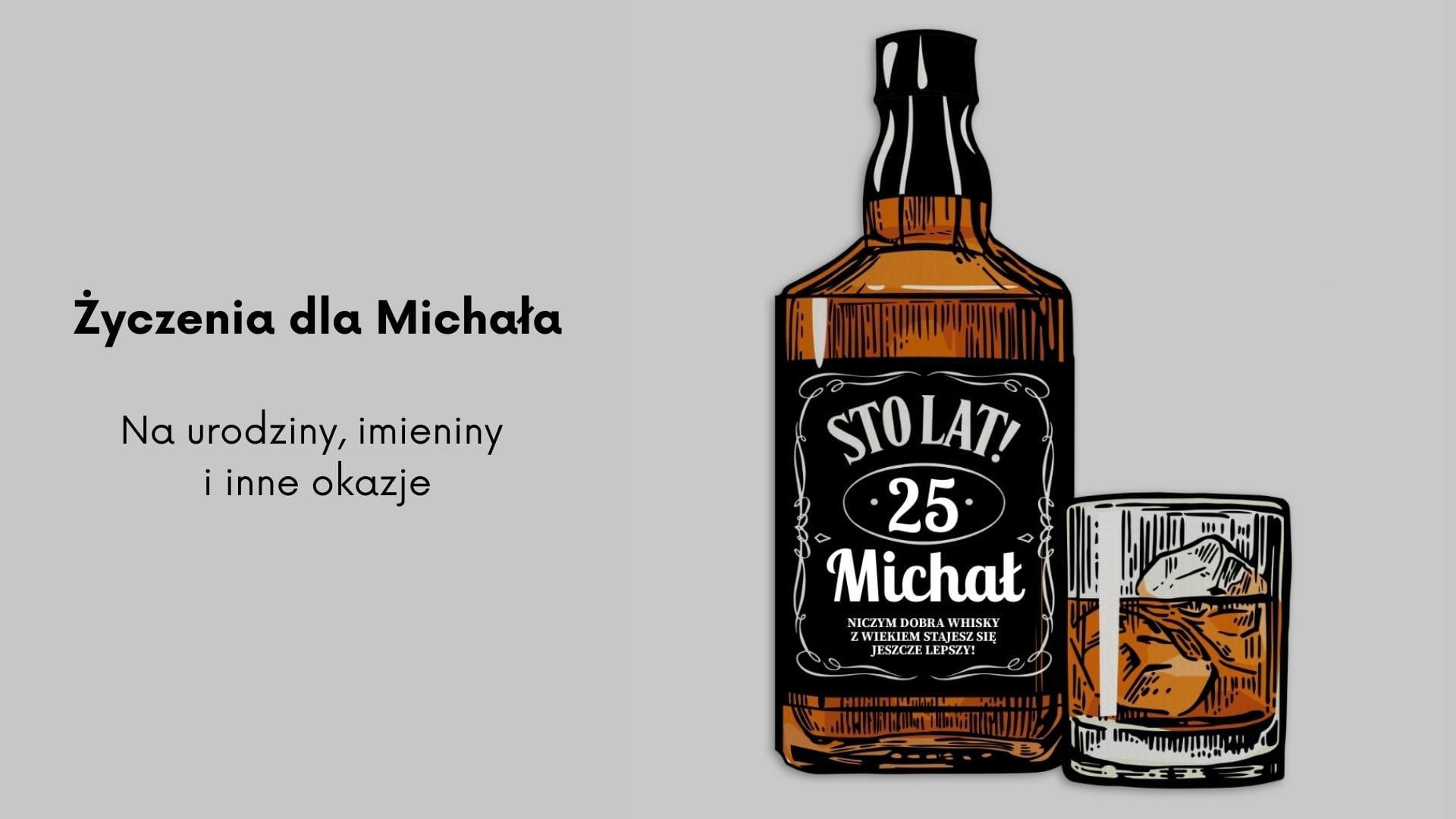 Życzenia dla Michała na urodziny, imieniny i inne okazhje