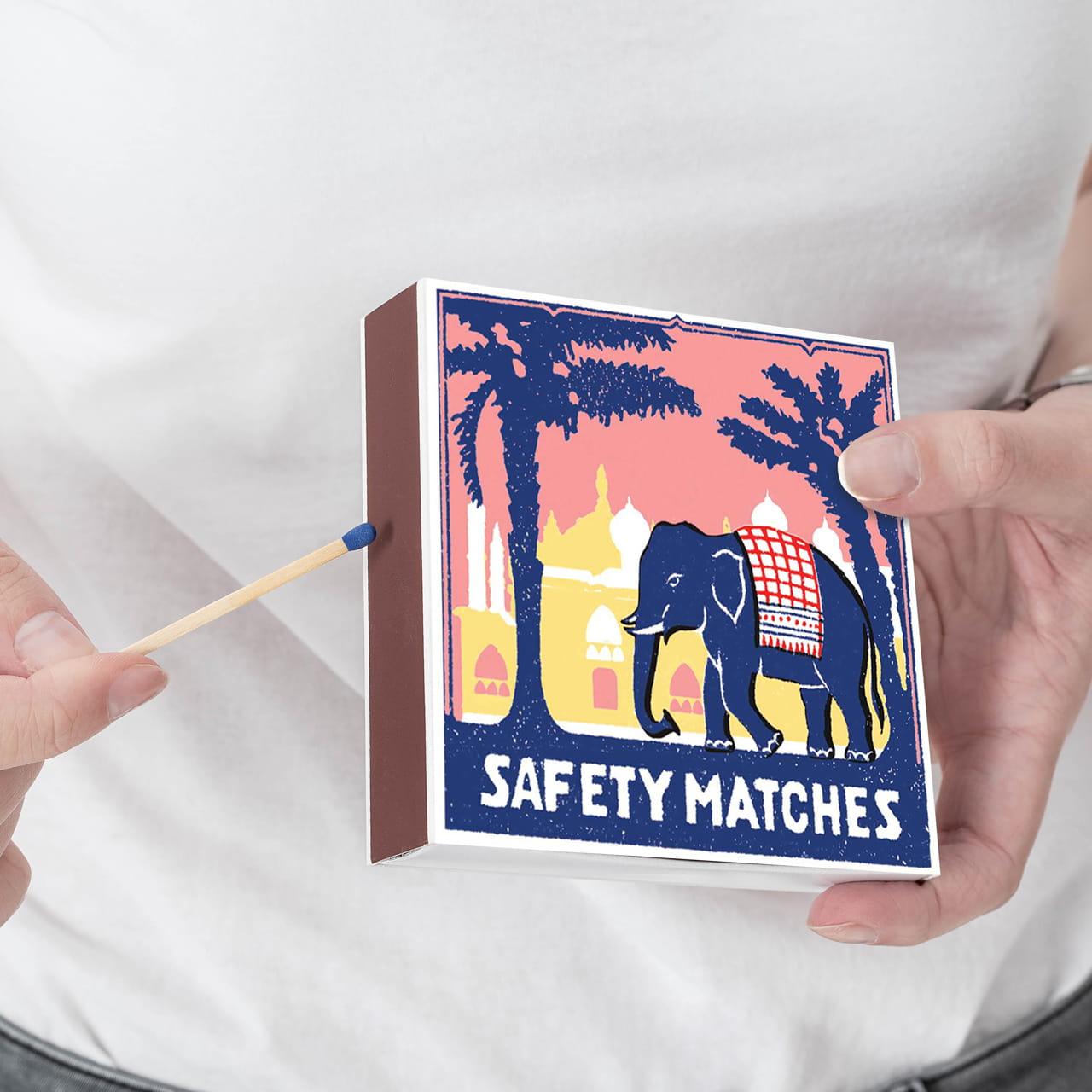 Zapałki kolekcjonerskie długie PINK ELEPHANT