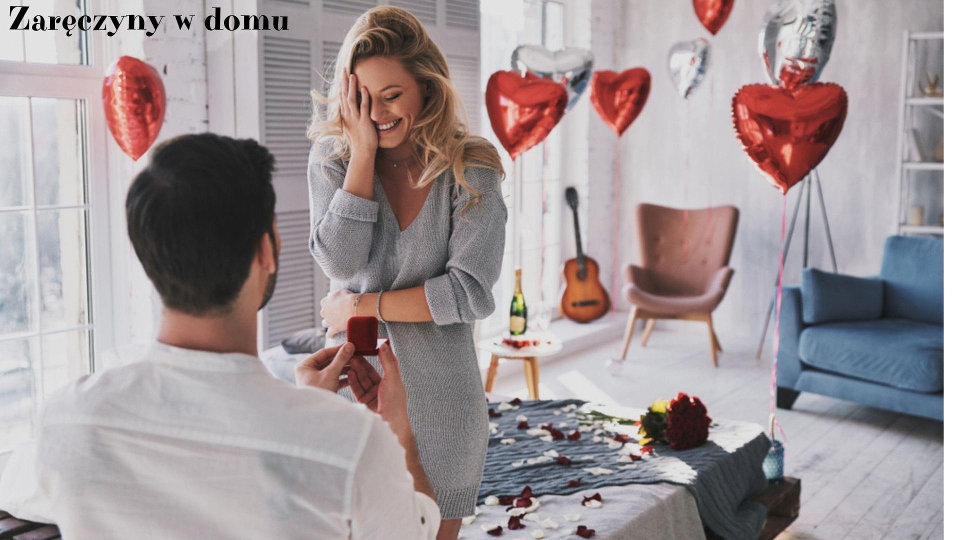Zaręczyny w domu