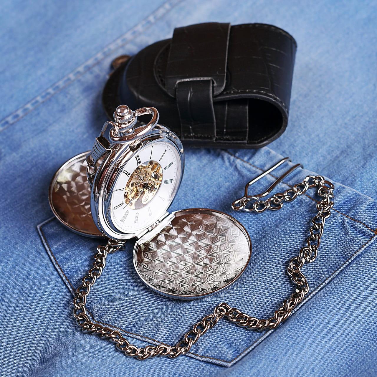 Zegarek kieszonkowy ELEGANCKI PREZENT