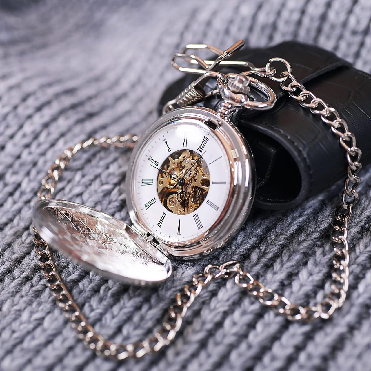 Zegarek kieszonkowy ELEGANCKI ROCZNIK