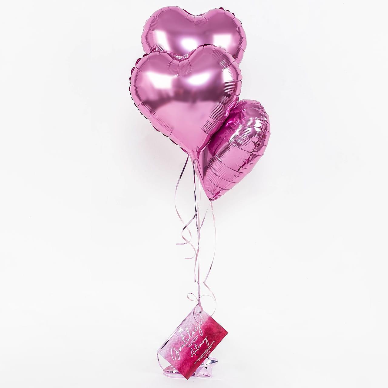 Zestaw balony + kartka na prezent dla mamy na urodzenie dziecka