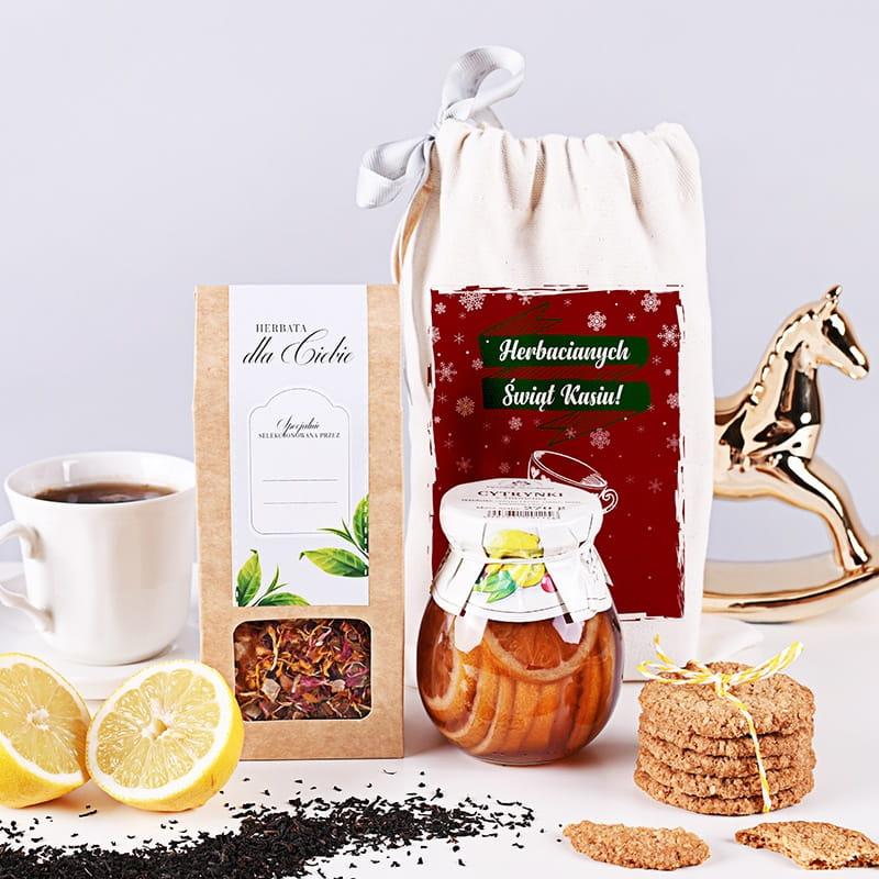 Zestaw herbaciany w woreczku HERBACIANE ŚWIĘTA