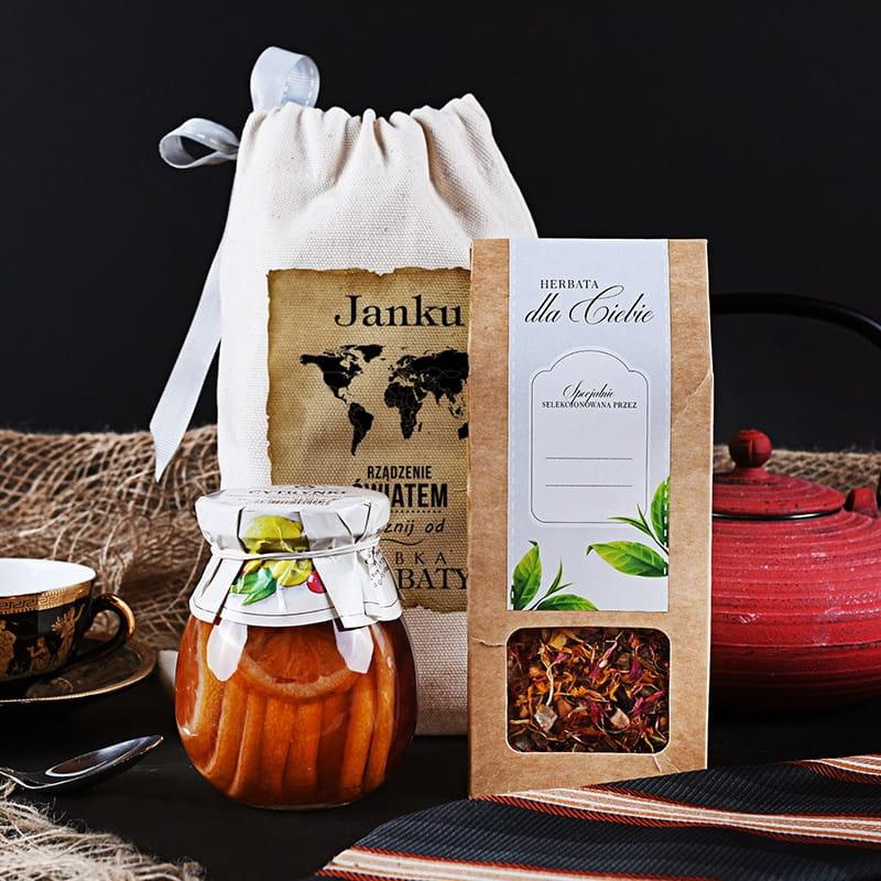 Zestaw herbaciany w woreczku RZĄDZENIE ŚWIATEM