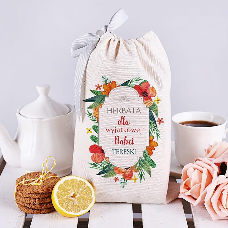 Zestaw herbaciany w woreczku WYJĄTKOWA
