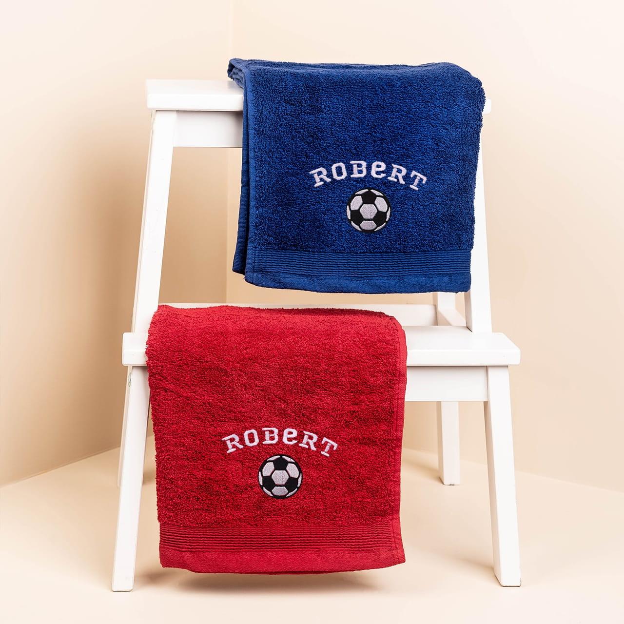 Ręcznik dla przedszkolaka z nadrukiem