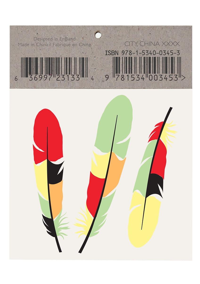 06b15e37bd753c Tatuaże tymczasowe TUKAN / Akcesoria - sklep PartyBox.pl