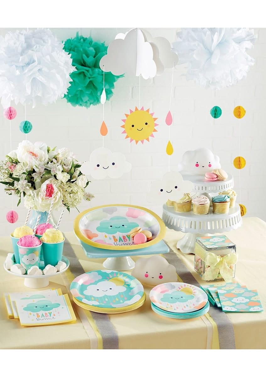 Zaproszenia Chmurka 8szt Kolekcja Chmurka Sklep Partyboxpl