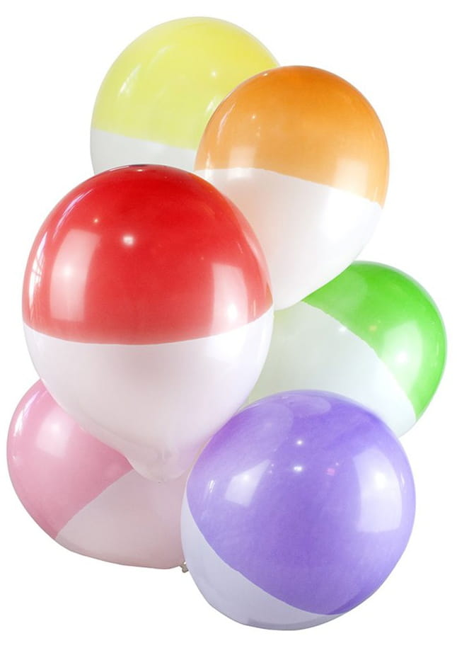 Balony TWO TONE (12szt.)
