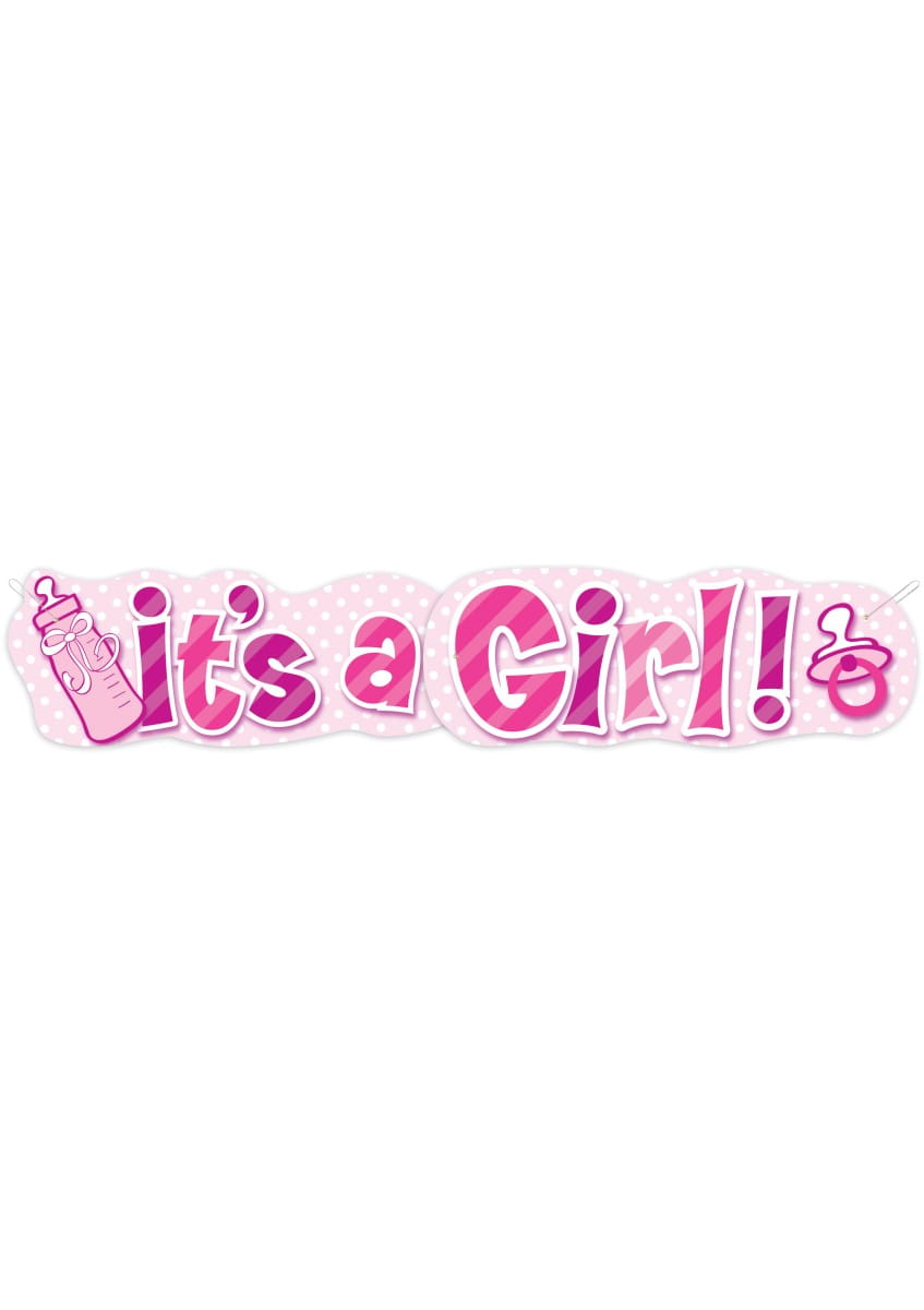 Baner IT'S A GIRL