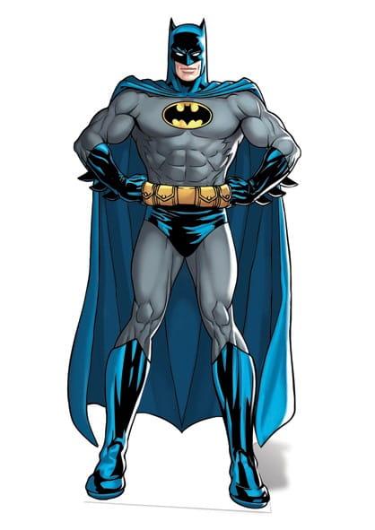 Dekoracja kartonowa BATMAN komiks / Dekoracje na imprezę superbohaterów