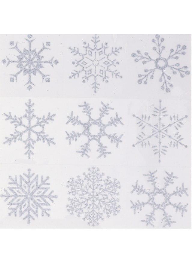 Dekoracja Na Okno Płatki śniegu