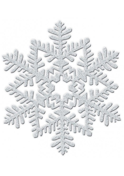 Dekoracja Płatek śniegu