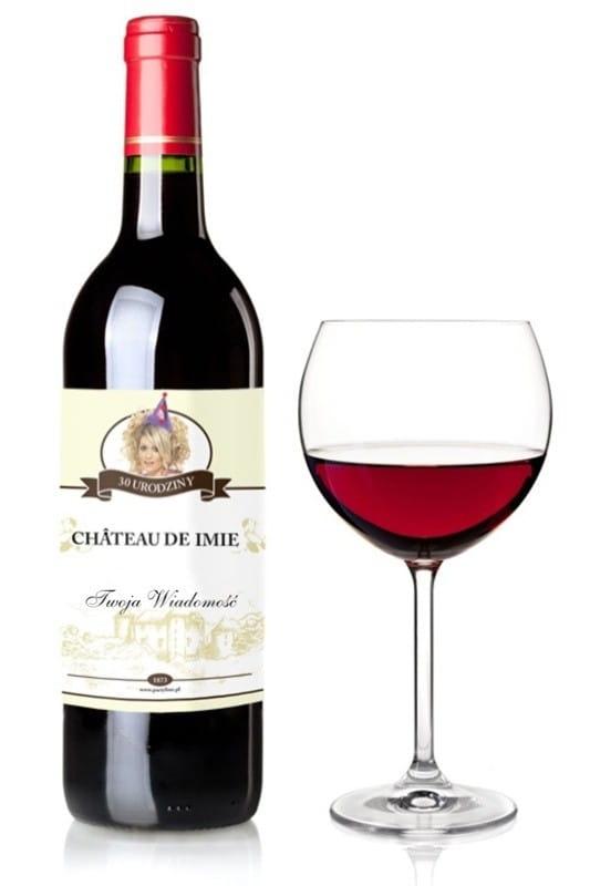 W Ultra Etykieta na wino z Twoim zdjęciem i imieniem / Akcesoria EZ26