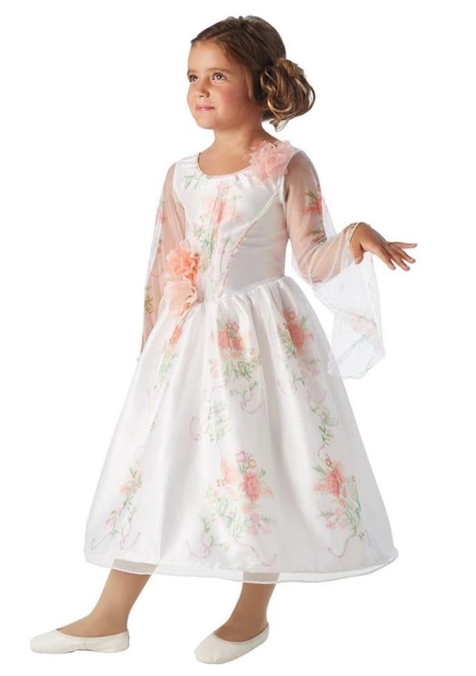 Strój Dziecięcy Bella Suknia ślubna Księżniczki I Wróżki