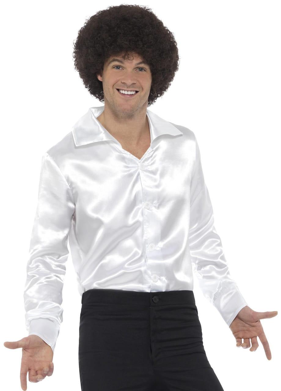 3b598851acf2 Koszula męska biała LATA 60.   Stroje - sklep PartyBox.pl