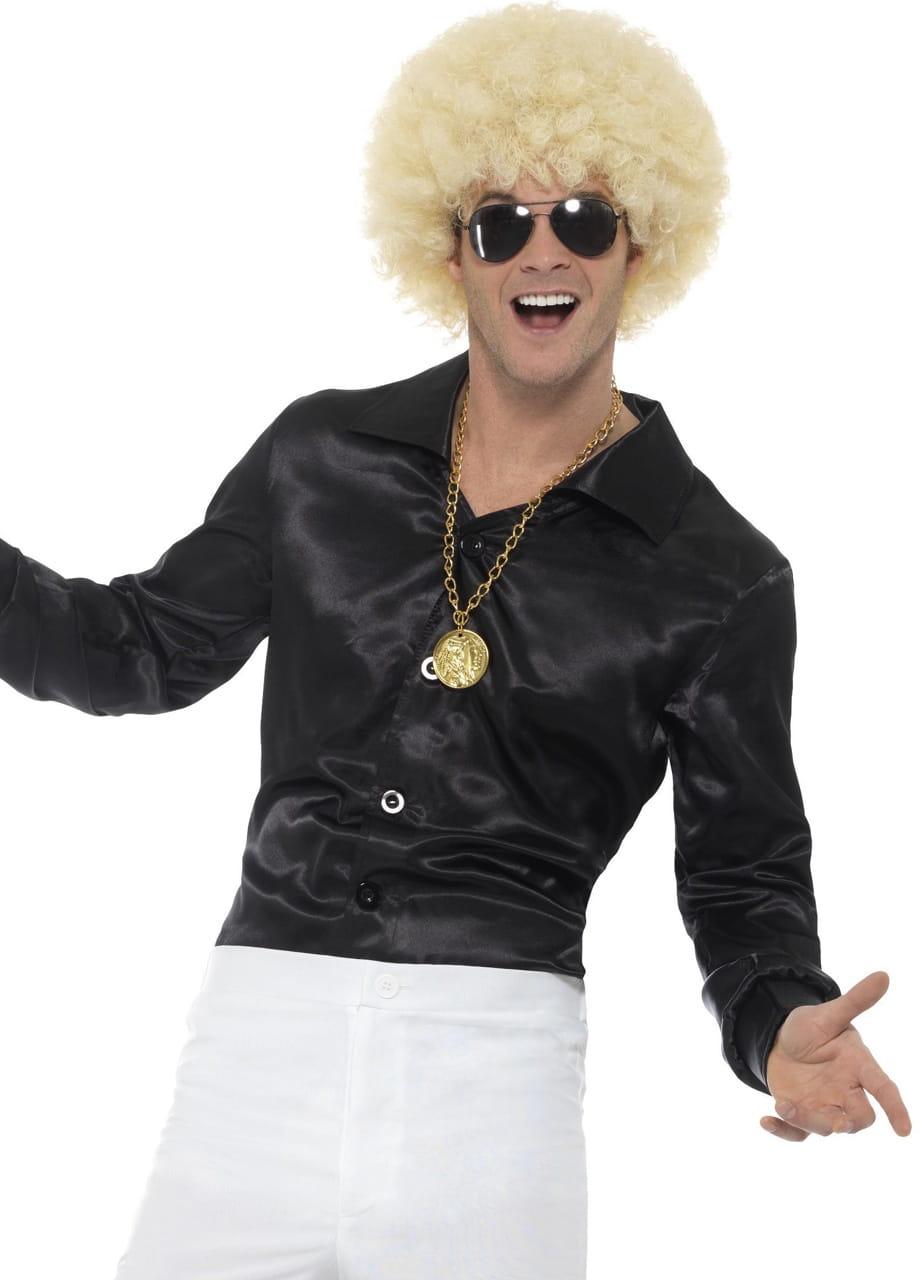 a7962a5fdadcc3 Koszula męska czarna LATA 60. / Elton John - sklep PartyBox.pl