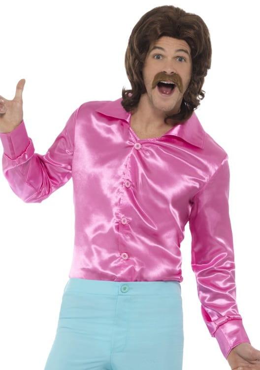 51e50c3ff2f6 Koszula męska różowa LATA 60.   Elton John - sklep PartyBox.pl