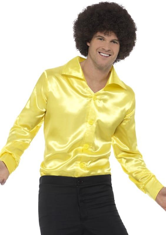 62c1935117c9de Koszula męska żółta LATA 60 / Limahl - sklep PartyBox.pl