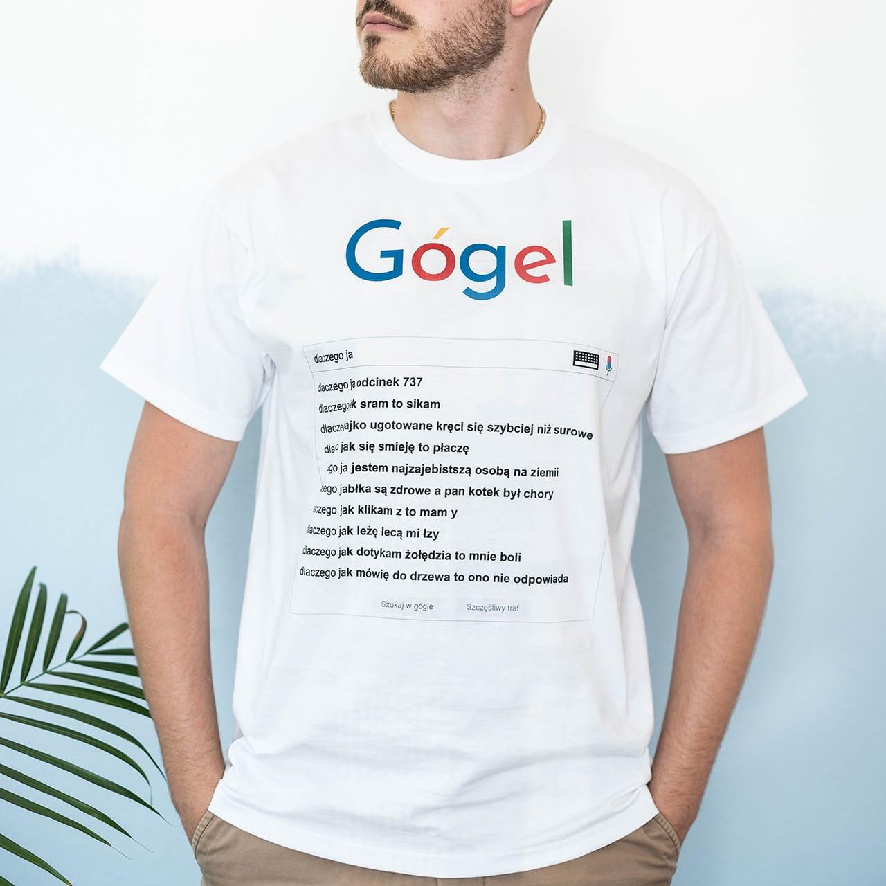 6959245c456a59 Koszulka męska GOGLE / Śmieszne prezenty na 18 urodziny