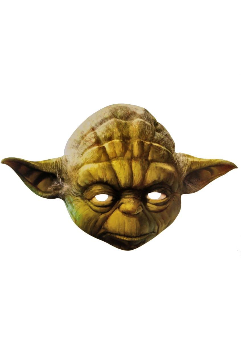 Star Wars Yoda Maska do twarzy