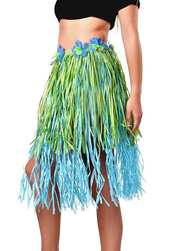 Spódnica hawajska dwukolorowa