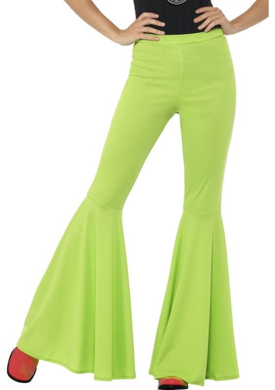 43327f420eaee Spodnie dzwony damskie zielone / Spodnie - sklep PartyBox.pl