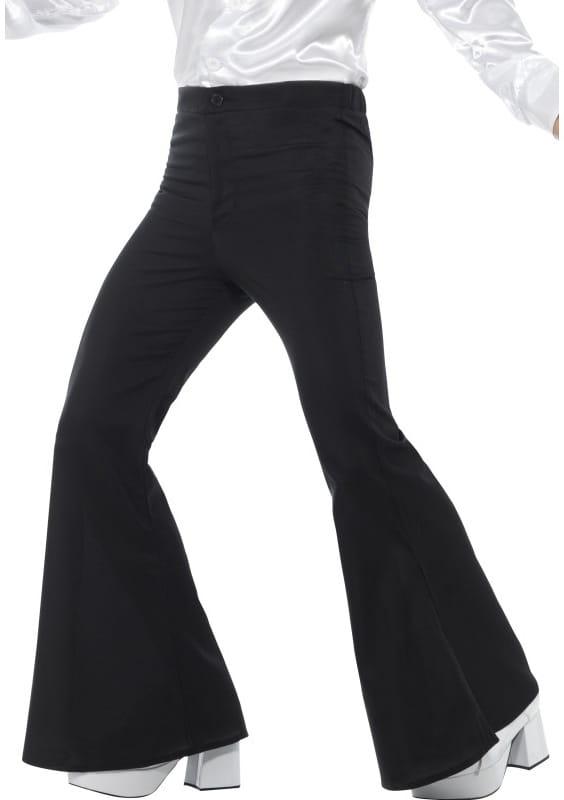 27e608ff Spodnie męskie dzwony czarne