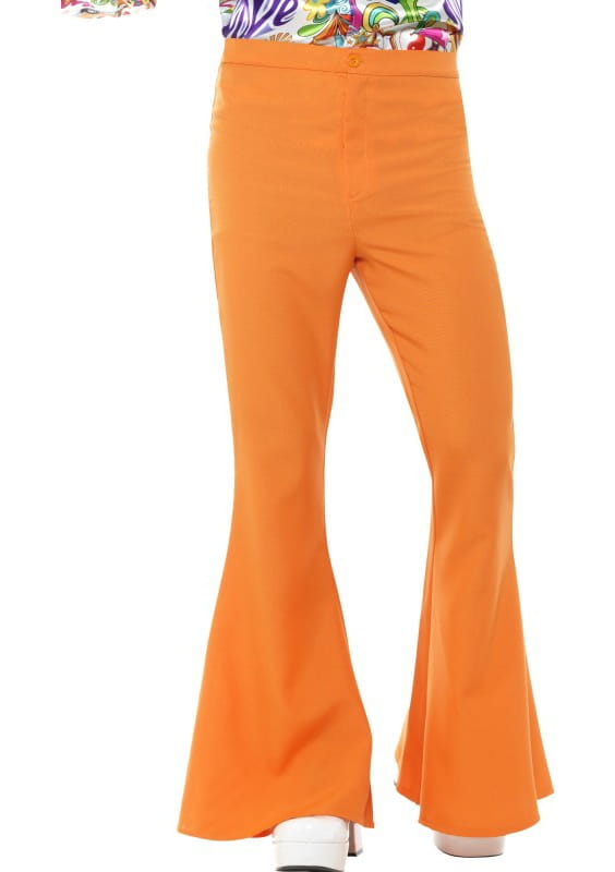 a6bdba7337f3d Spodnie męskie dzwony pomarańczowe / Spodnie - sklep PartyBox.pl
