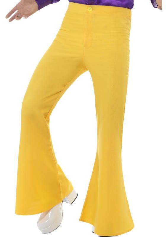 71b4245ee4e69 Spodnie męskie dzwony żółte / Spodnie - sklep PartyBox.pl