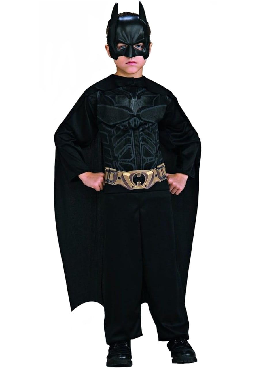 Masywnie Strój BATMAN czarny dla dzieci 8-10 lat / Stroje Batmana IH28