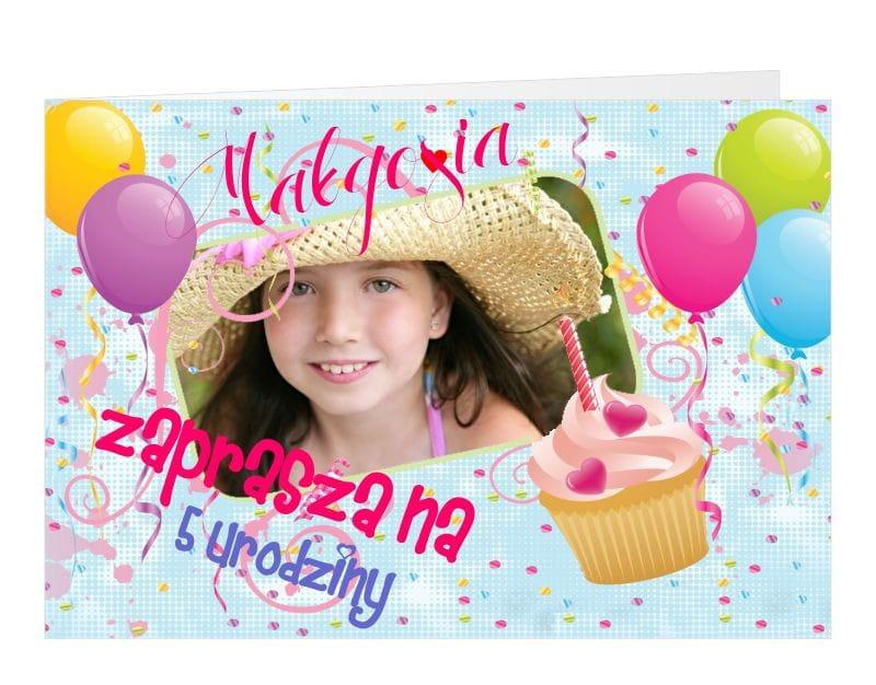 Zaproszenia Personalizowane Urodzinowe Zaproszenia Dla Dzieci