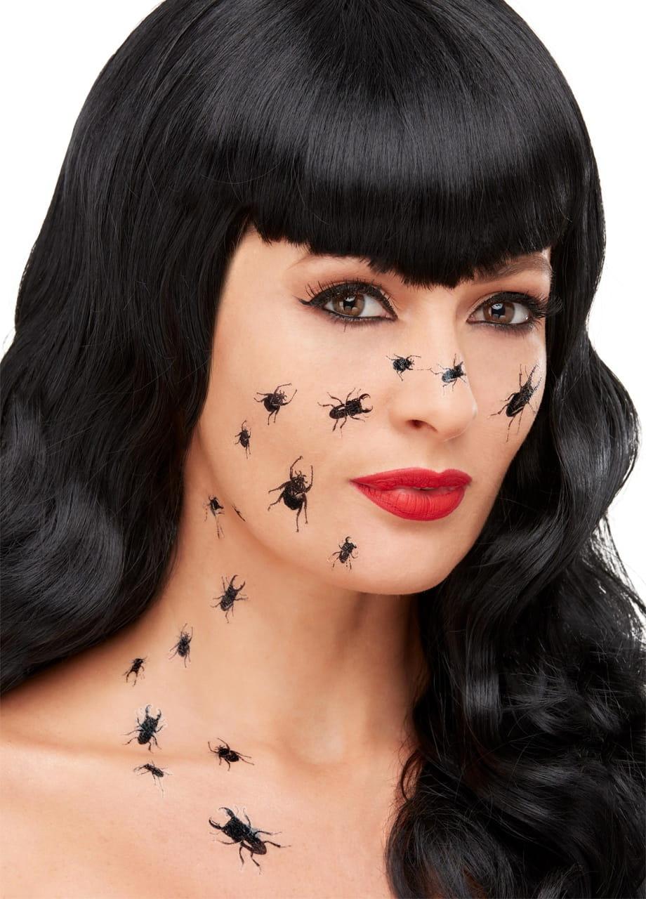 Tatuaże Zmywalne Na Halloween Robaki