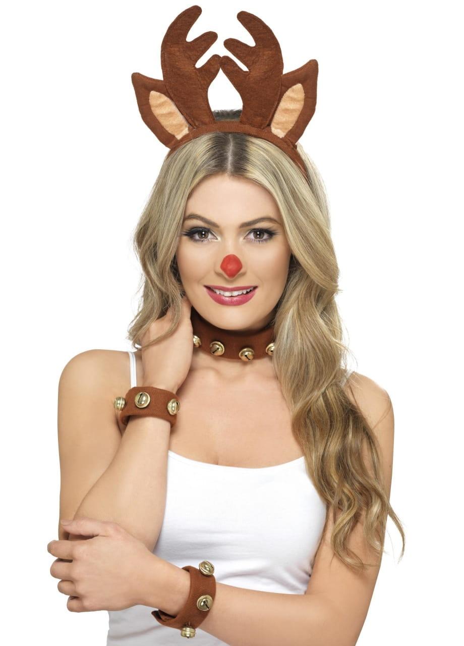 Zestaw Renifer Opaski świąteczne Sklep Partyboxpl