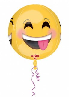 Balon EMOTICON kula 38cm