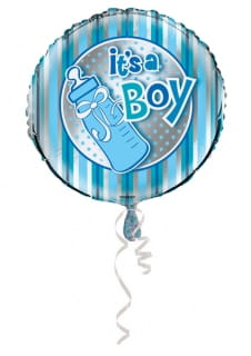 Balon foliowy IT'S A BOY 45cm
