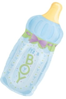 Balon foliowy IT'S A BOY butelka 79cm