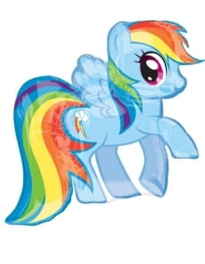 Balon kucyki Pony MY LITTLE PONY Rainbow Dash (71 x 68cm)