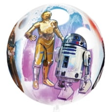 Balon foliowy STAR WARS kula