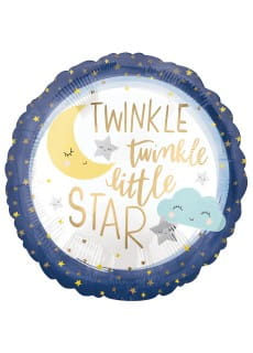 Balon foliowy TWINKLE LITTLE STAR (43cm)
