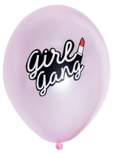 Balony GIRL GANG (5szt.)